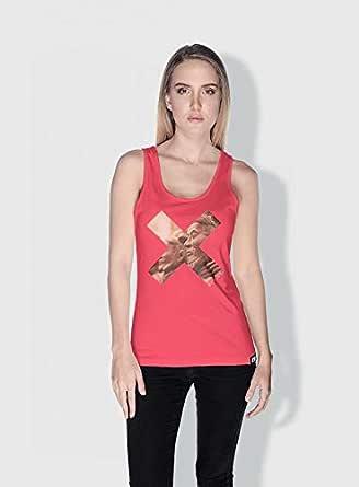 Creo Xian X City Love Tanks Tops For Women - L, Pink
