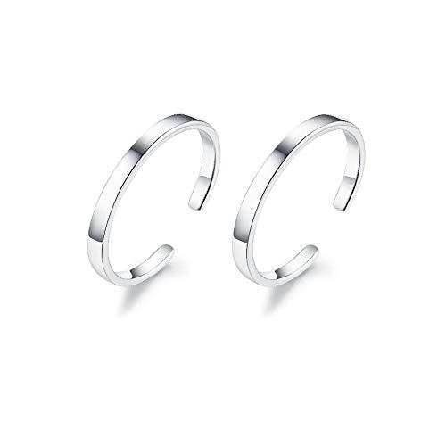 (Izpack Minimalist Cuff Clip On 925 Sterling Silver Small Hoop Earrings for Women Teen Girls Cartilage Fashion Wrap No Piercing Ear Hypoallergenic)