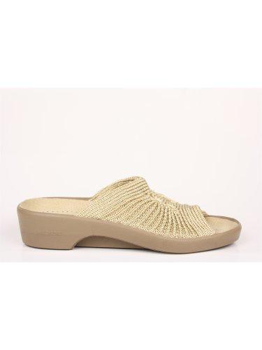 Größen Toe Arcopedico Farben Beige Sandalette erhältlich Splash Open verschiedenen in und 88qBO