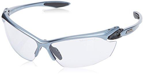 Alpina Unisex Sportbrille Twist Four VL+, black matt, A8434131