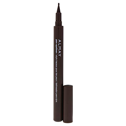 Almay Oil-Free Pen Eyeliner, Brown, Ophthalmologist Tested, Hypoallergenic