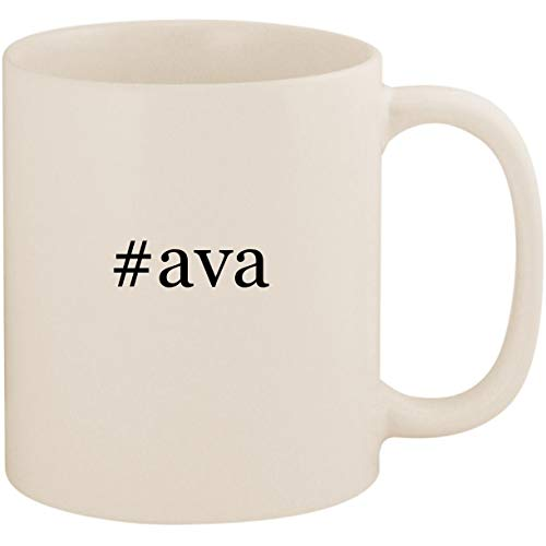 #ava - 11oz Ceramic Coffee Mug Cup, White