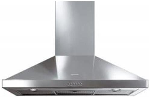 Smeg KSE9800XL - Campana (565 m³/h, 69 dB, De pared, Acero inoxidable, Acero inoxidable, 2 bombilla(s)): Amazon.es: Hogar