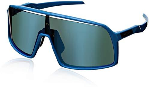 Oakley Men's OO9406 Sutro Shield Sunglasses, Sky/Prizm Sapphire, 37 ()