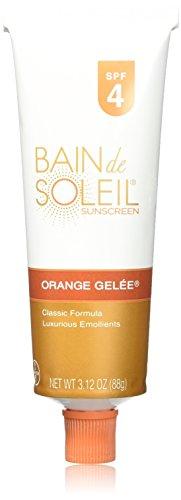 Bain de Soleil Orange Gelee Sunscreen, SPF 4, 3.12-Ounce ...