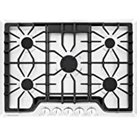 Frigidaire FGGC3047QW Gallery 30 White Gas Sealed Burner Cooktop