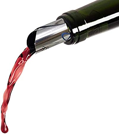 Unique Store 10 vertedor de vino, vertedor parar vino gota, Discos vertedor vino,Antigoteo Vino Discos,Pourer sin goteo para botellas de vino