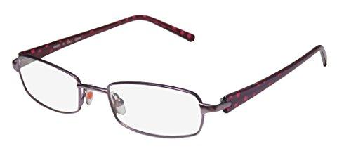 Karen Millen Km0067 Womens/Ladies Designer Full-rim Eyeglasses/Eyewear (51-19-135, Lavender / Purple - Karen Millen Frames Glasses