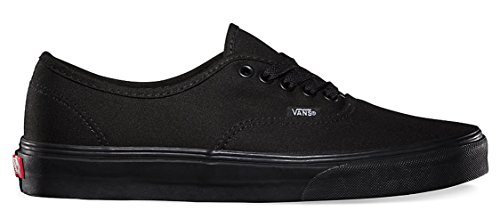 Zapatillas Vans Authentic Skate Size 9 Black / Black