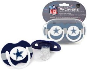 Dallas Cowboys Pacifiers Catalog Category product image