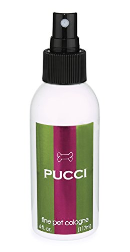 Designer Doggie Cologne Pucci, 4-Ounce Designer Pet Colognes