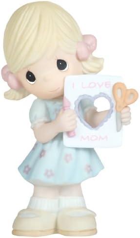 Precious Moments I Love Mom Figurine, Girl