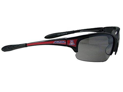 Arizona Wildcats UA Black Elite Mens Red White Blue Sunglasses - Wildcats Sunglasses Arizona