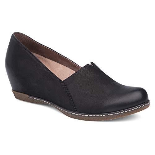 Dansko Women's Liliana Black Wedge 7.5-8 M US (Women For Dansko Shoes)