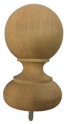 Bw Creative Wood Ind Intl CE7060000W Ball Top Post Cap, Cedar - Quantity 14 ()