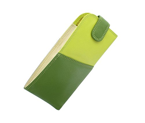 Visconti RB106 Soft Leather Eye Glasses Pouch / Sunglasses Case Holder