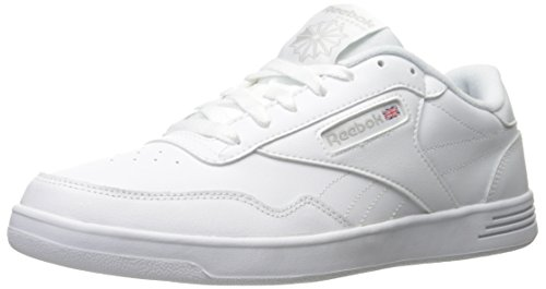 Reebok Mens Club Memt Fashion Sneakers White/Steel/Collegiate Royal kIenFWLX