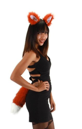 Elope Fox Ears and Tail Kit - Boys Fox Costumes