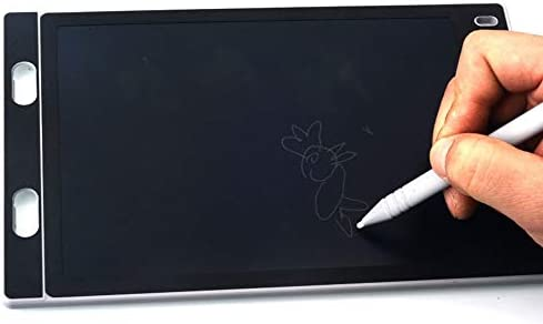 LKJASDHL 8.5インチの子供のLCDタブレットの落書きの絵画板電子ほこりのない執筆板黒板軽いエネルギー小さい黒板黒板のペン (色 : ホワイト)