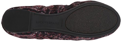 Lucky Women's Emmie Ballet Flat Black Multi free shipping new online cheap 2014 newest newest M5JLqm