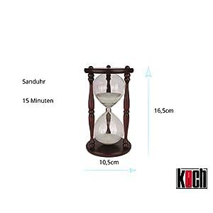 Koch 11250 Classic – Reloj de arena (15 minutos)
