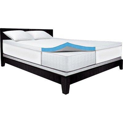 serta memory foam mattress. Plain Serta Serta 25Inch Queen GelMemory Foam Mattress Topper With Memory