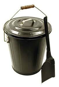 Landmann 1508 Hearthmates Black Ash Bucket and Shovel Kit