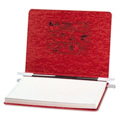 Pressboard Hanging Data Binder, 12 X 8-1/2 Unburst Sheets, Executive Red By: ACCO by Office Realm