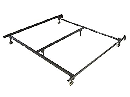 Amazon.com: Glidaway Iron Horse Deluxe Rug Roller Bed Frame - 6 Leg ...