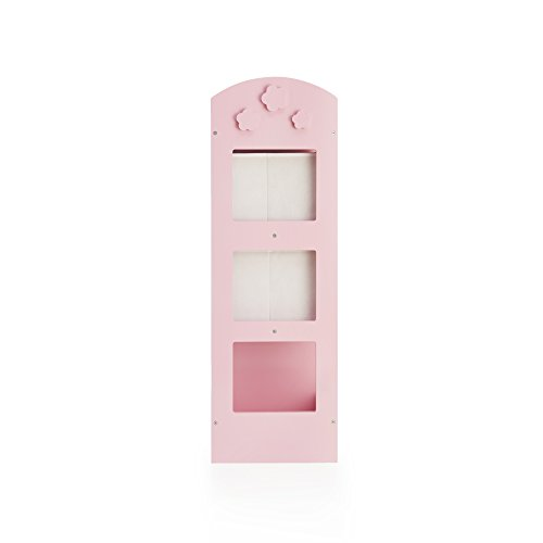 Guidecraft See and Store Dress Up Center Pink - Armoire, Dresser Kids' Furniture by Guidecraft (Image #3)