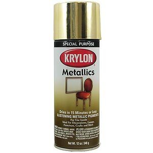 Krylon Metallic Spray Enamel Paint