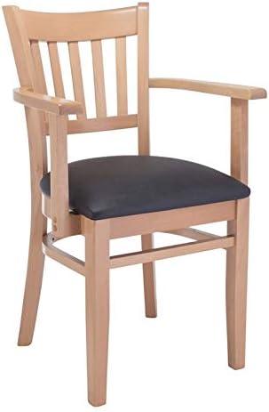 Beechwood Mountain Vertical Dining Arm Chair