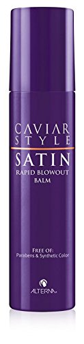 Caviar Style SATIN Rapid Blowout Balm, 5-Ounce by Alterna