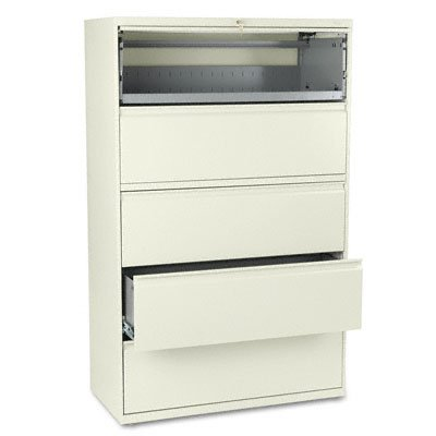 800 Series Five Drawer - HON895LP - HON 800 Series Five-Drawer Lateral File