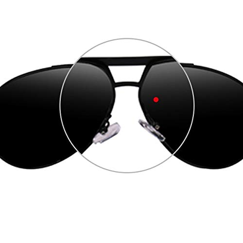 Hombres para de Lentes para polarizadas Exteriores Clarity K0529 de Color Sol Black UV400 Gafas WEATLY Glasses protección Sun Black pqw8I0X0