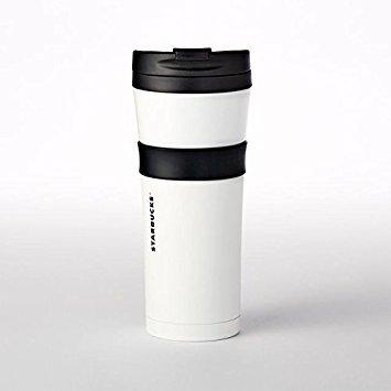 Starbucks Stainless Steel Grip Tumbler - Bright White, 16 fl oz - Starbucks Tumbler Coffee