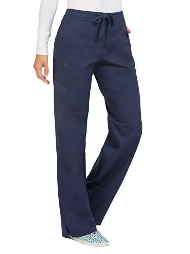 - Med Couture Signature Women's Back Elastic Scrub Pant New Navy XLP