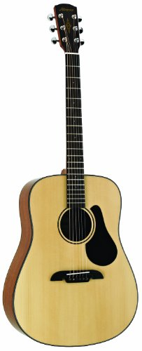 Alvarez Artist Series AD30 Dreadnought Guitar, Natural/Gloss Finish Alvarez Acoustic Guitar Picks