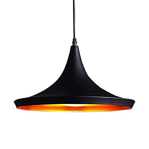 Retro Ceiling Light Industrial Pendant Lighting Metal Loft Lamp Shade Vintage Lampshades Hanging E27 Base LED Light Fixture For Coffee Bar Kitchen Max 60W Chandelier (Ceiling In Plate Plug)