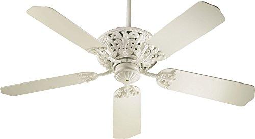 Quorum 85525-67, Windsor Antique White Energy Star 52 Ceiling Fan