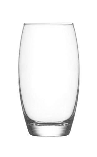 LAV Highball Glasses, All Purpose, Water, Juice, Cocktails Set of 6-17.25 oz by Lav