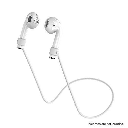 SwitchEasy AirBuddy AirPods Strap Organizer, Earphone Covers and Strap for Apple AirPods