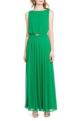 green georgette dress - 9