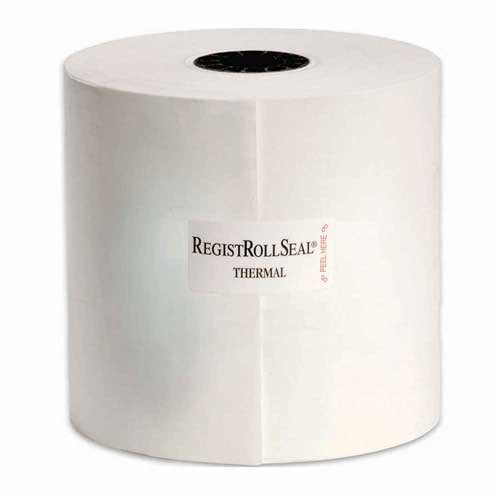 National Checking Thermal CSO White 1 Ply Registroll, 4-3/8 inch x 328 Feet -- 24 rolls per case. by National Checking