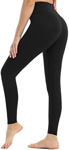VOEONS Womens Printed High Waisted Yoga Pants Compression Athletic Leggings with Pockets