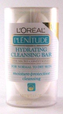 L'Oreal Plenitude Hydrating Facial Cleansing Soap Bar 4.5 oz