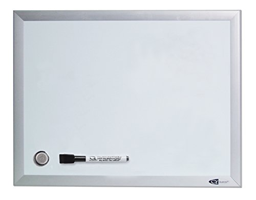 Quartet Dry Erase Board  White Board  24  x 18 Silver Aluminium Fr Deal (Large Image)