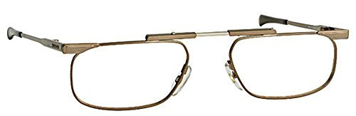 Japan Slimfold Model - SlimFold Reading Glasses by Kanda of Japan Model 5 Color Brown Strength +2.00 by Slimfold by Kanda of Japan