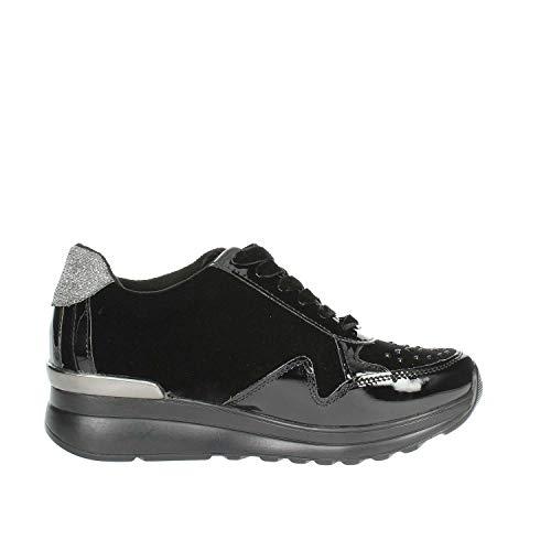 Sneakers Negro Laura Mujer 5067 Biagiotti x0wzPpaq