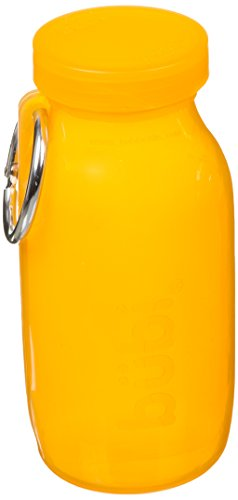 Bubi Bottle (14oz, Citrus Silicone Multi-Use Bottle) -